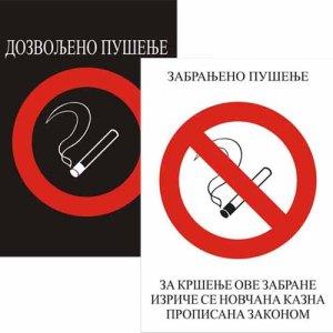 nalepnica pušenje