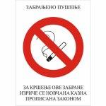 Zabranjeno pušenje A7
